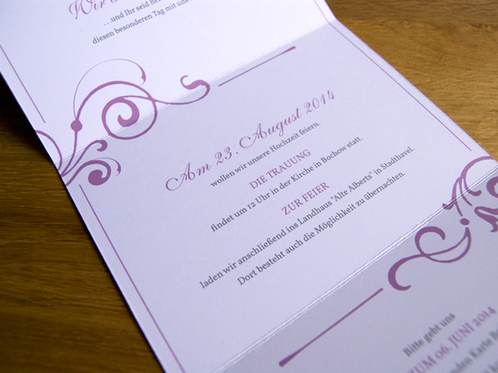 A&M fine wedding invitaitons