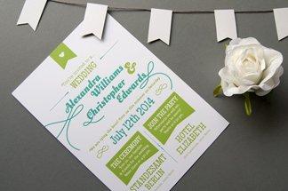kreative einladungskarten hochzeit – cloudhash, Einladungsentwurf